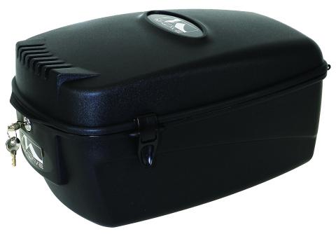 fahrradbox fahrradkoffer top case 17 liter abschlie bar. Black Bedroom Furniture Sets. Home Design Ideas